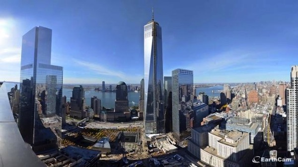 world trade center tower one opens