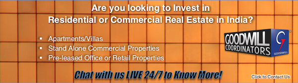 RESIDENTIAL:COMMERCIAL REAL ESTATE INDIA